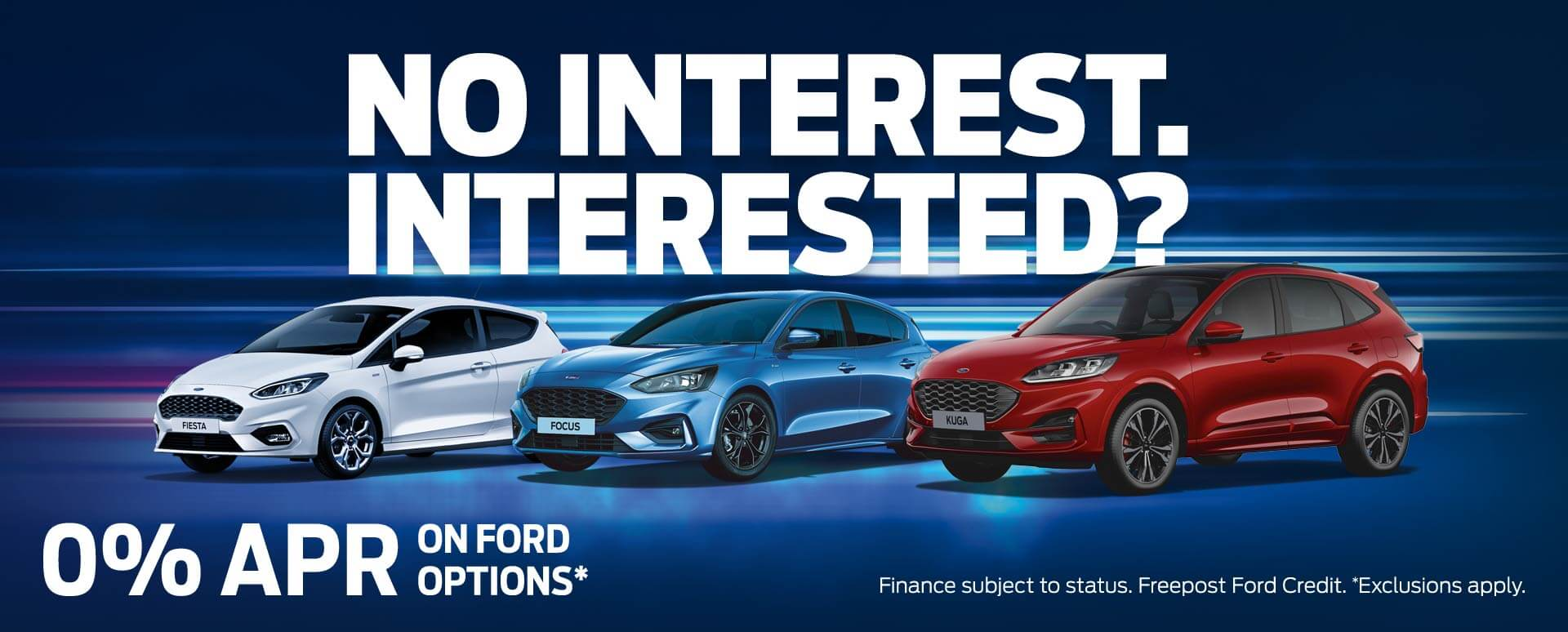 Ford 0% APR Finance Promotion