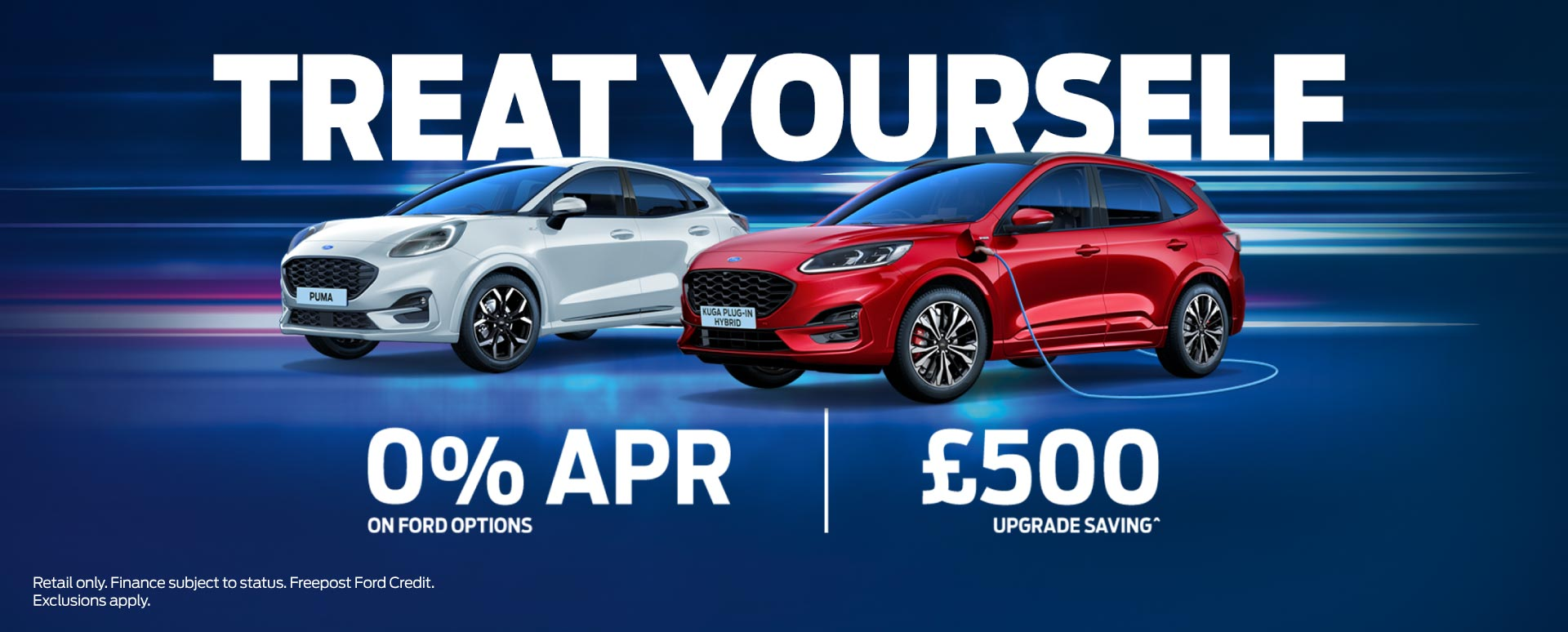 Ford Treat Yourself Promotion