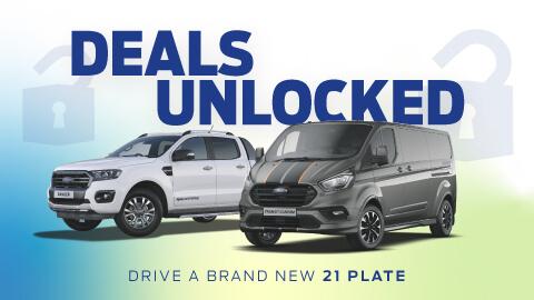 New Ford Van Deals Unlocked