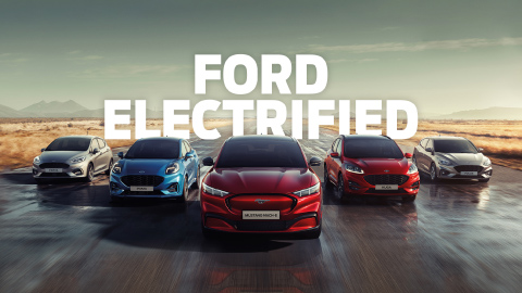 Ford Electrified Test Drive Event