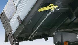Hinged tailboard