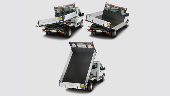 Ford Transit 3-Way Tipper