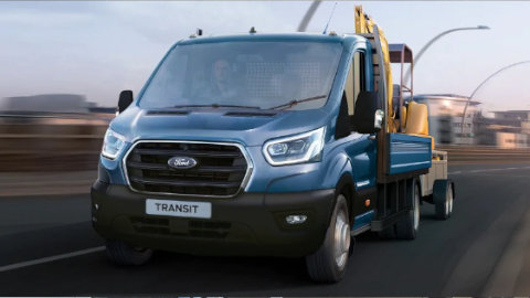 Ford Transit Conversion Towing
