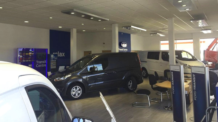 Ford Transit Centre Showroom