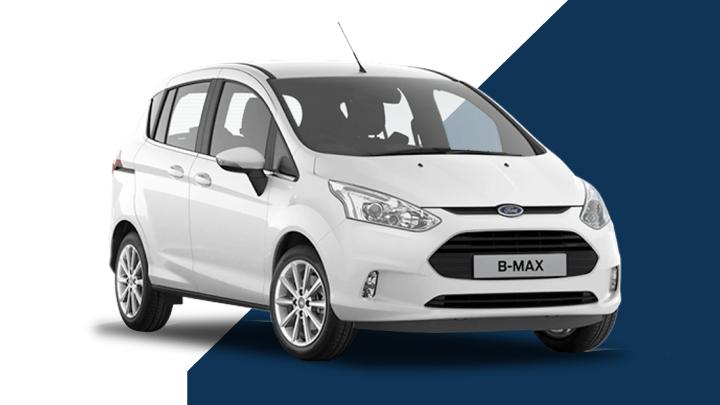 white ford b-max