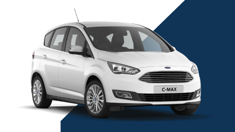 white ford c-max