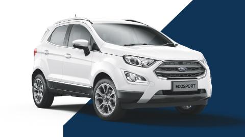 white ford ecosport