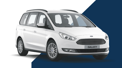 white ford galaxy