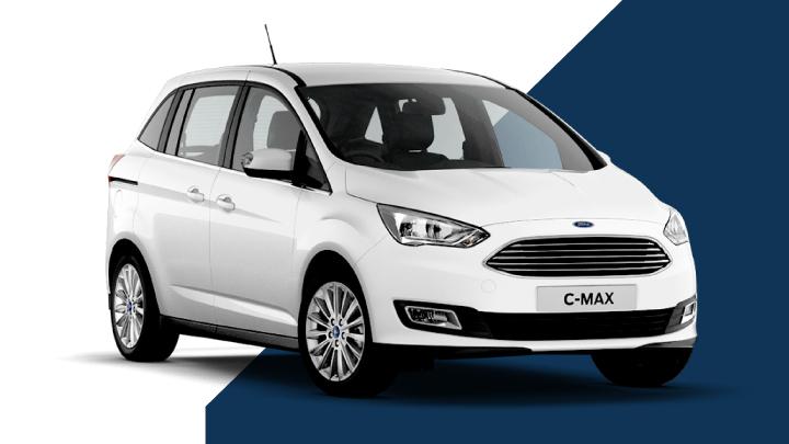 white ford grand c-max
