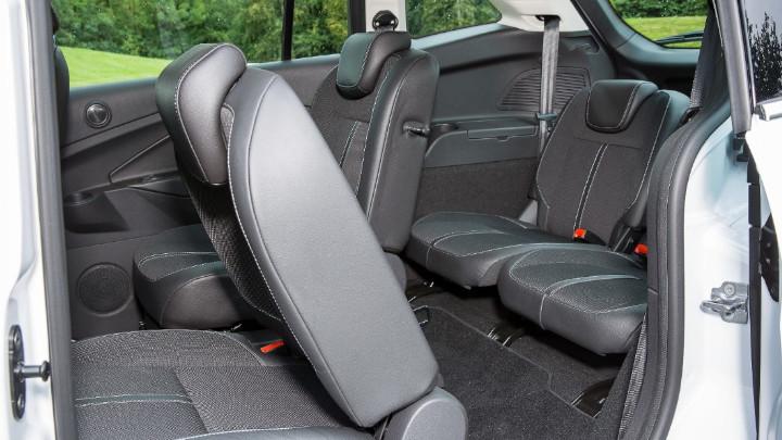 ford grand c-max, rear seats