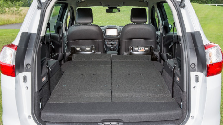 ford grand c-max, boot shot
