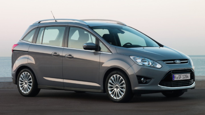 ford grand c-max, parked