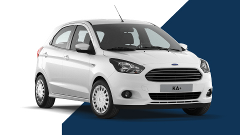 white ford b-max ka plus