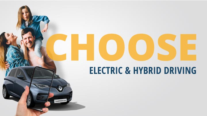 Choose Hybrid and Electric Driving
