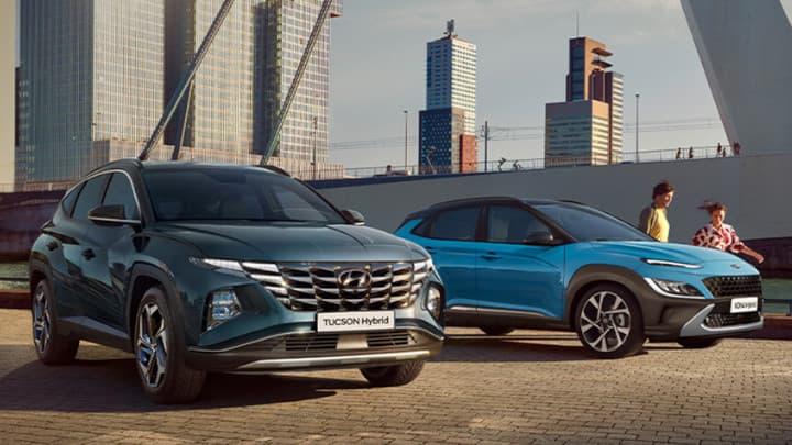 Hyundai Tucson and Kona Hybrid