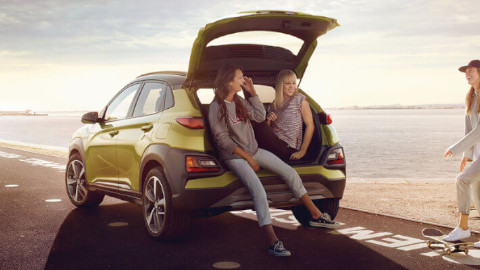 Hyundai Kona Bootspace