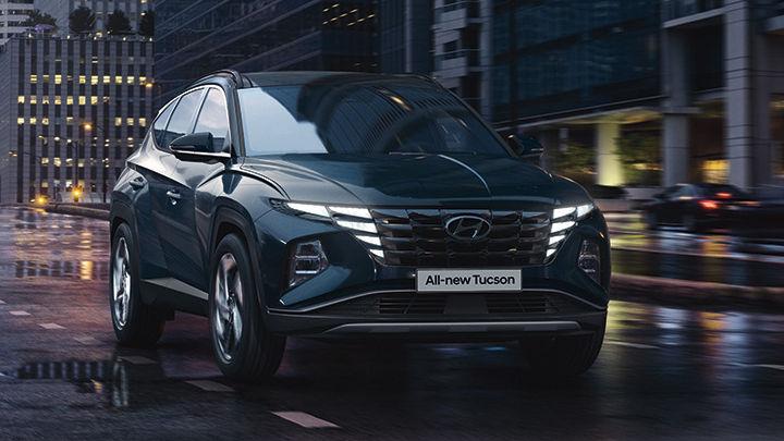 Nearly-New Hyundai Tucson