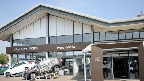 Evans Halshaw Hyundai Dealership