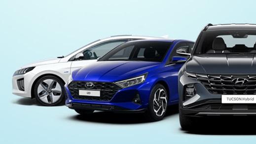 Hyundai Car Range