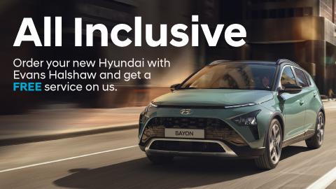 Hyundai All Inclusive Promotion