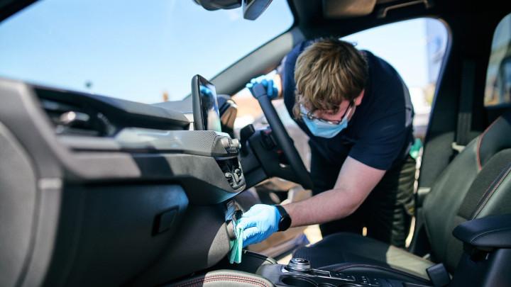 Car Sanitisation