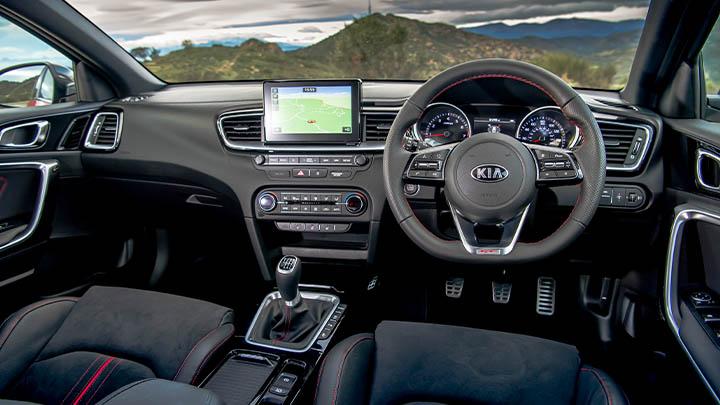 Kia Ceed, interior