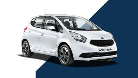 White Kia Venga