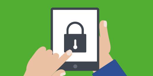 locking a device