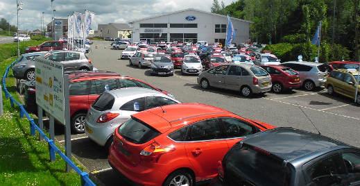 Cars at Evans Halshaw