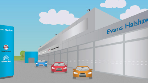 Evans Halshaw Cardiff Citroen and Vauxhall dealership
