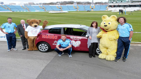 Citroen Leeds support Martin House Hospice