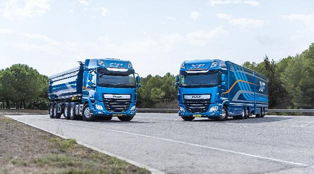 Two DAF Trucks