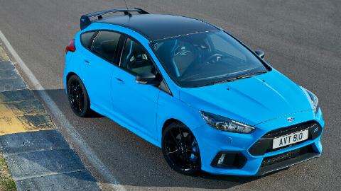 Limited edition Ford Focus RS 2017