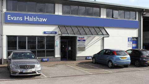 Evans Halshaw parts delivery