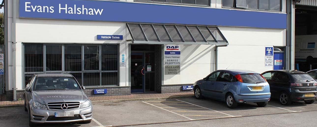 Evans Halshaw DAF dealership