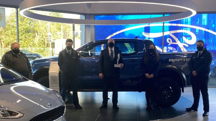 Ford Glasgow: Ford Chairman's Award