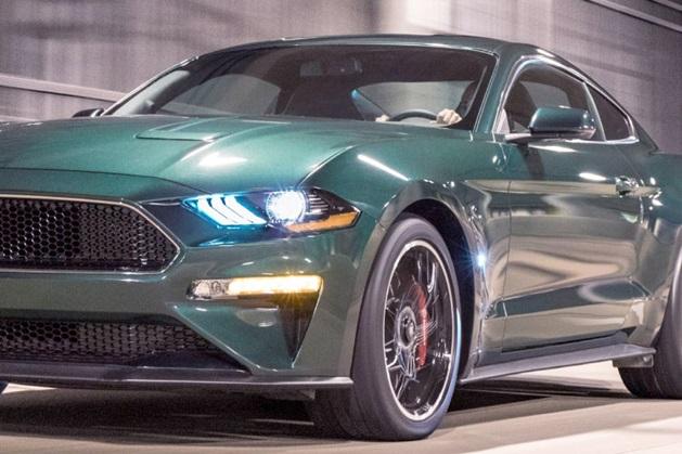 Ford Mustang Bullitt Edition details shot