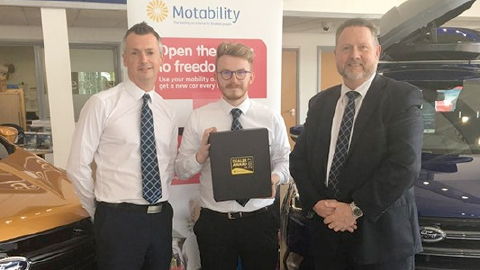 Ford Wrexham wins mobility award