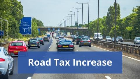 Road Tax Increase