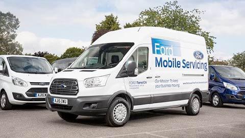 Ford Transit mobile servicing