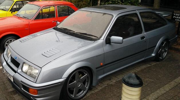 Silver Sierra Cosworth