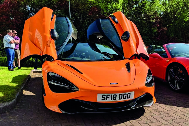 Orange McLaren