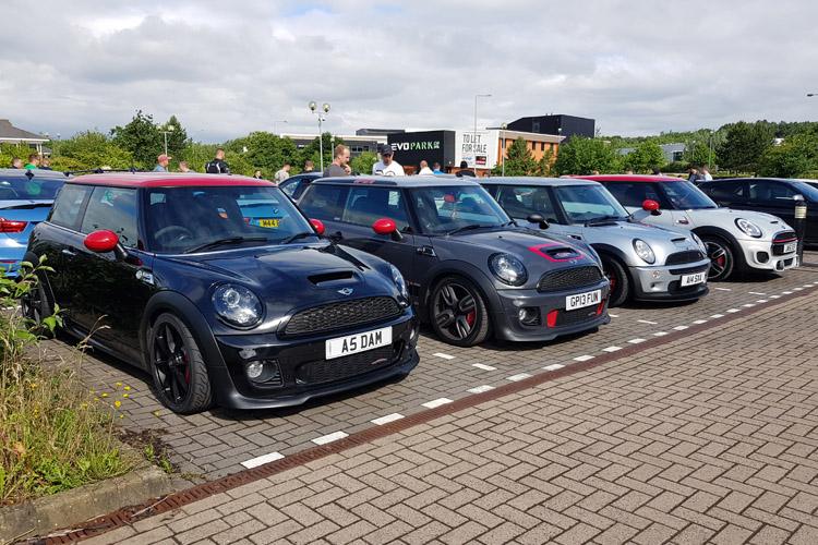 MINI line up