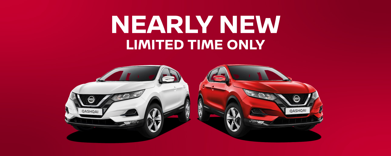 Nissan Nearly New Offers