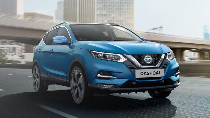 Nearly-New Nissan Qashqai