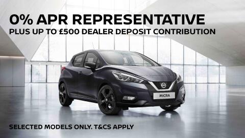 Nissan: 0% APR Finance