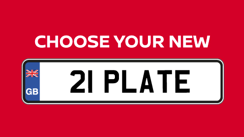 Choose 21 Plate Nissan
