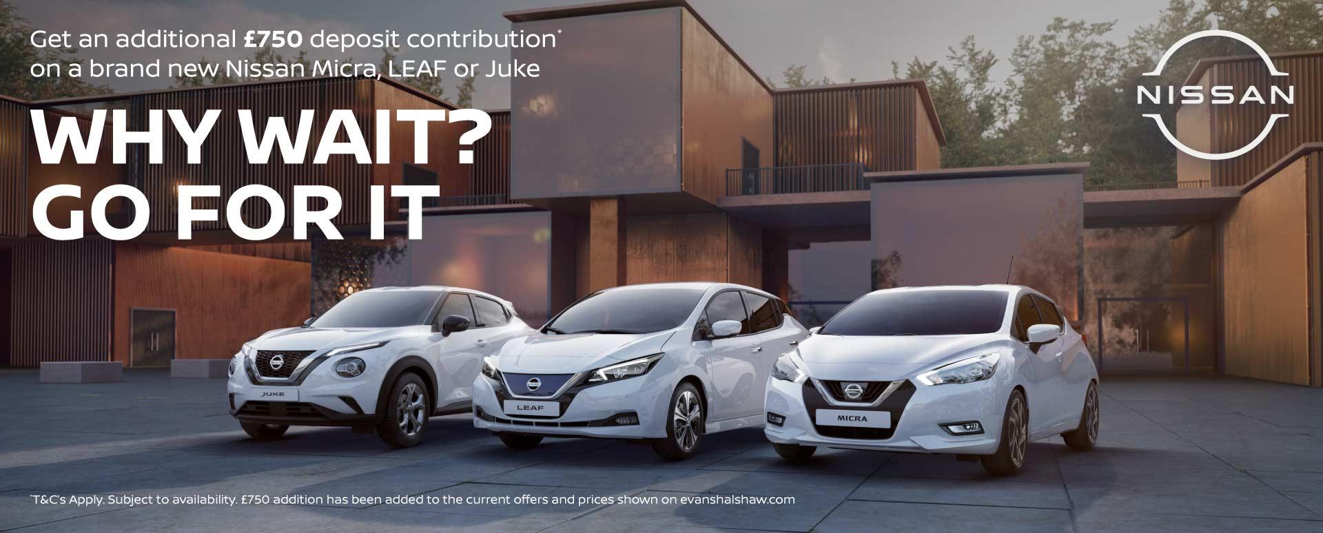Nissan Why Wait?