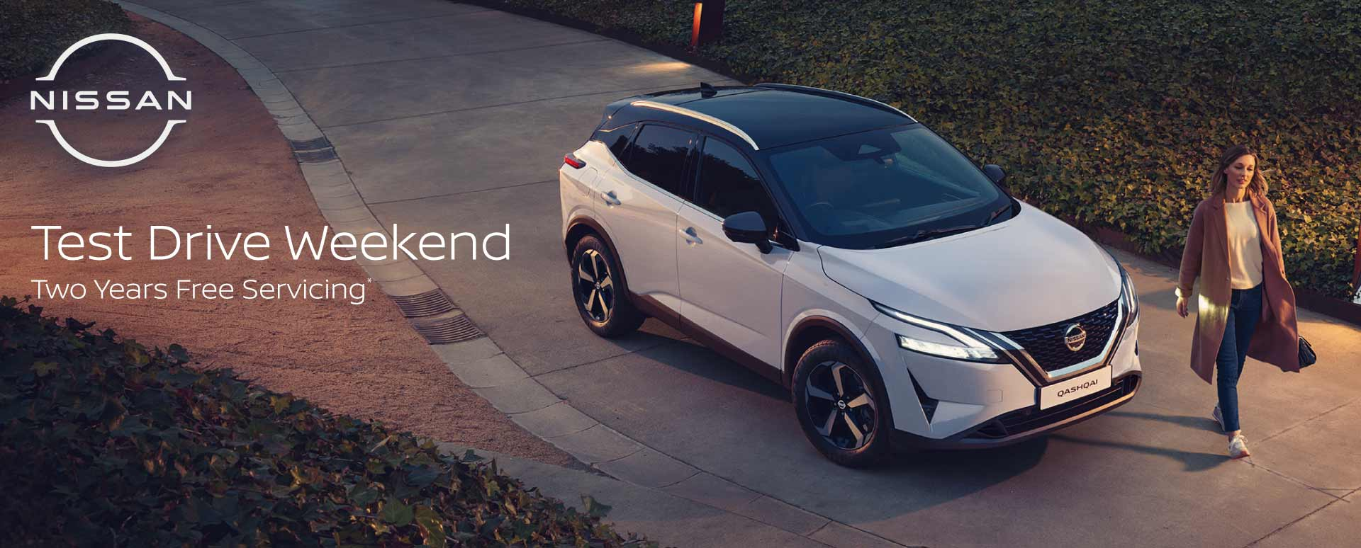 All-New Nissan Qashqai Test Drive Event
