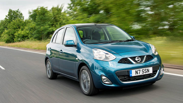 nissan micra, driving